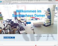 zur Webseite www.sanitaetshaus-damer.de