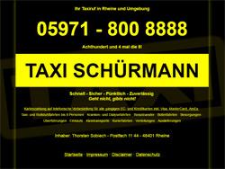 zur Webseite www.taxi-schuermann.de