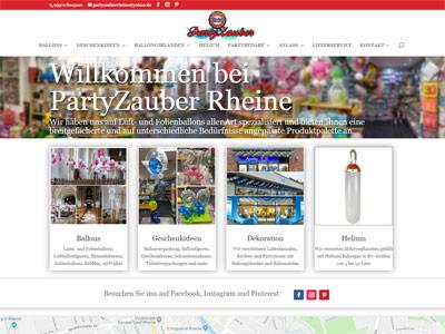 zur Webseite www.partyzauber-rheine.de